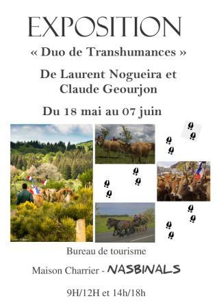 transhumances Laurent et Claude affiche