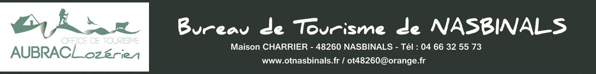 Office du tourisme, secteur NASBINALS Aubrac Lozérien
